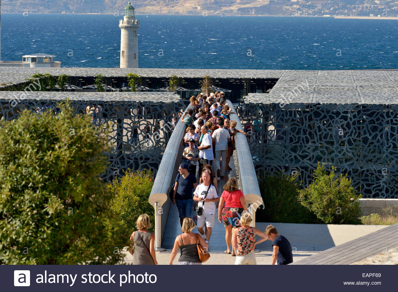 The MUCEM in Marseille - Stock Image