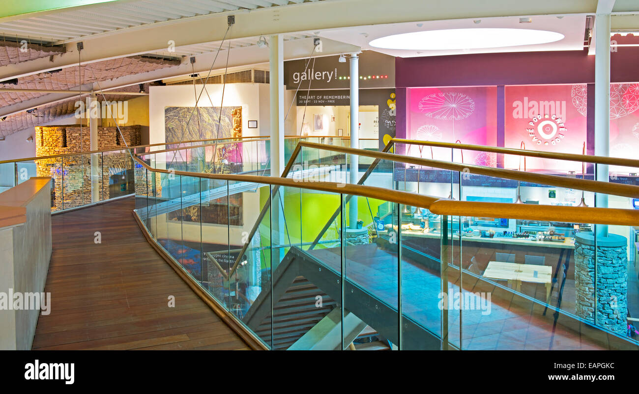 Rheged, Lake District attraction, near Penrith, Cumbria, England UK - Stock Image