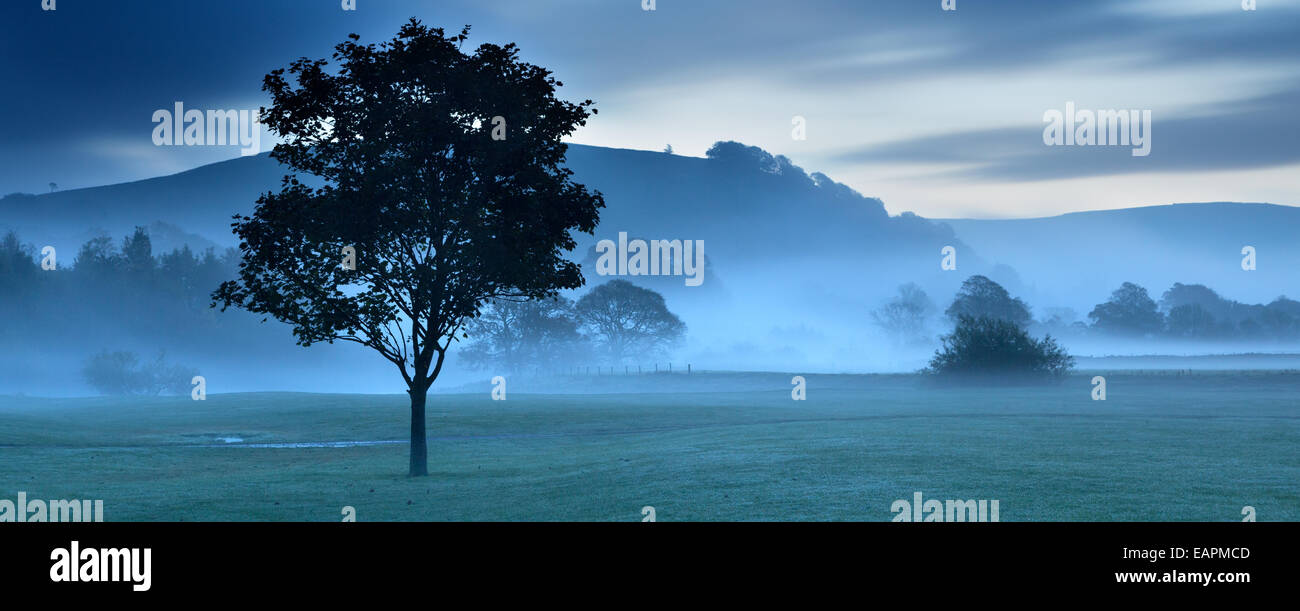 Burnsall village in Wharfdale in The Yorkshire dales, England. - Stock Image