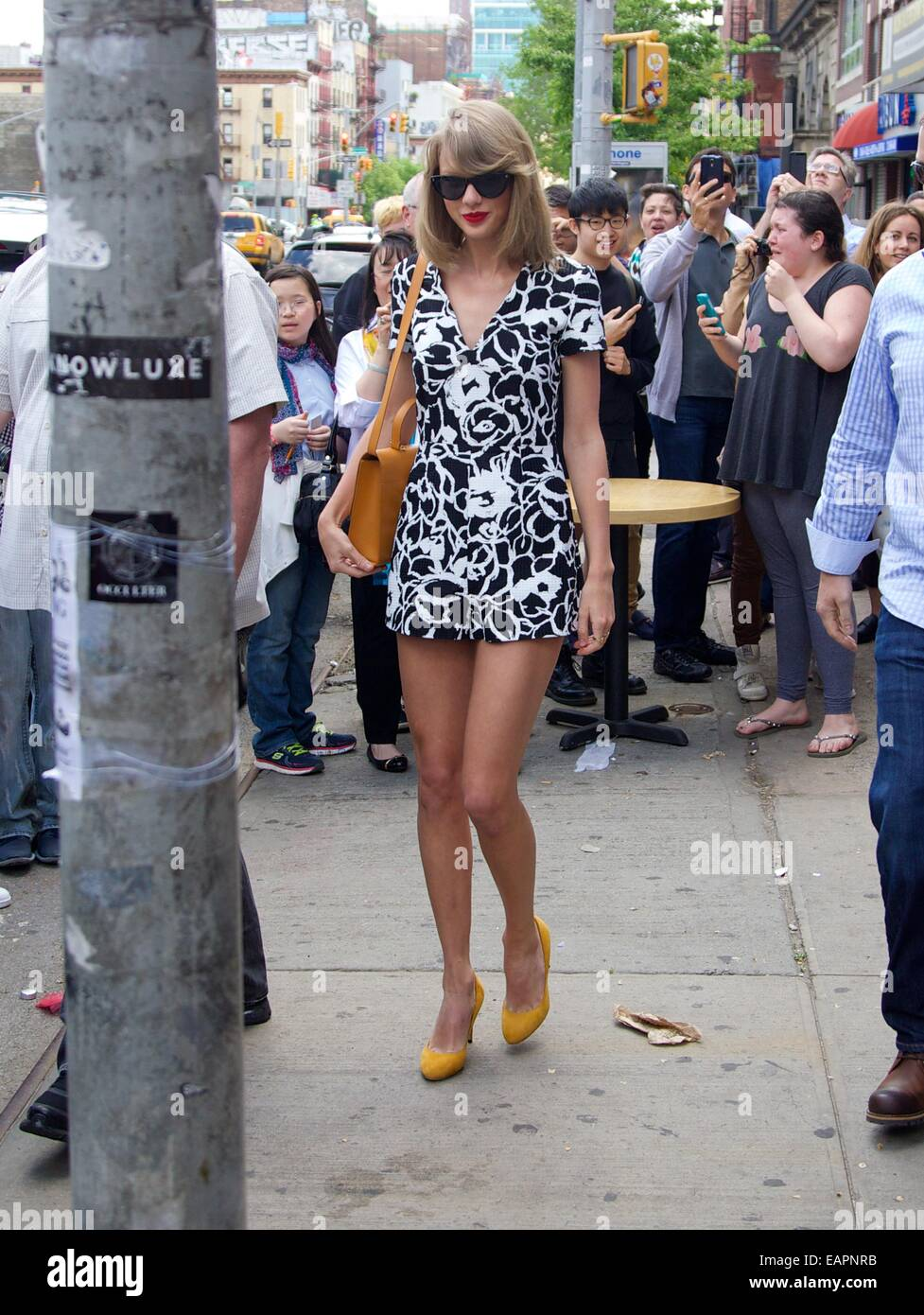 Taylor Swift Spotted On Bowery In New York City Featuring Taylor Stock Photo Alamy