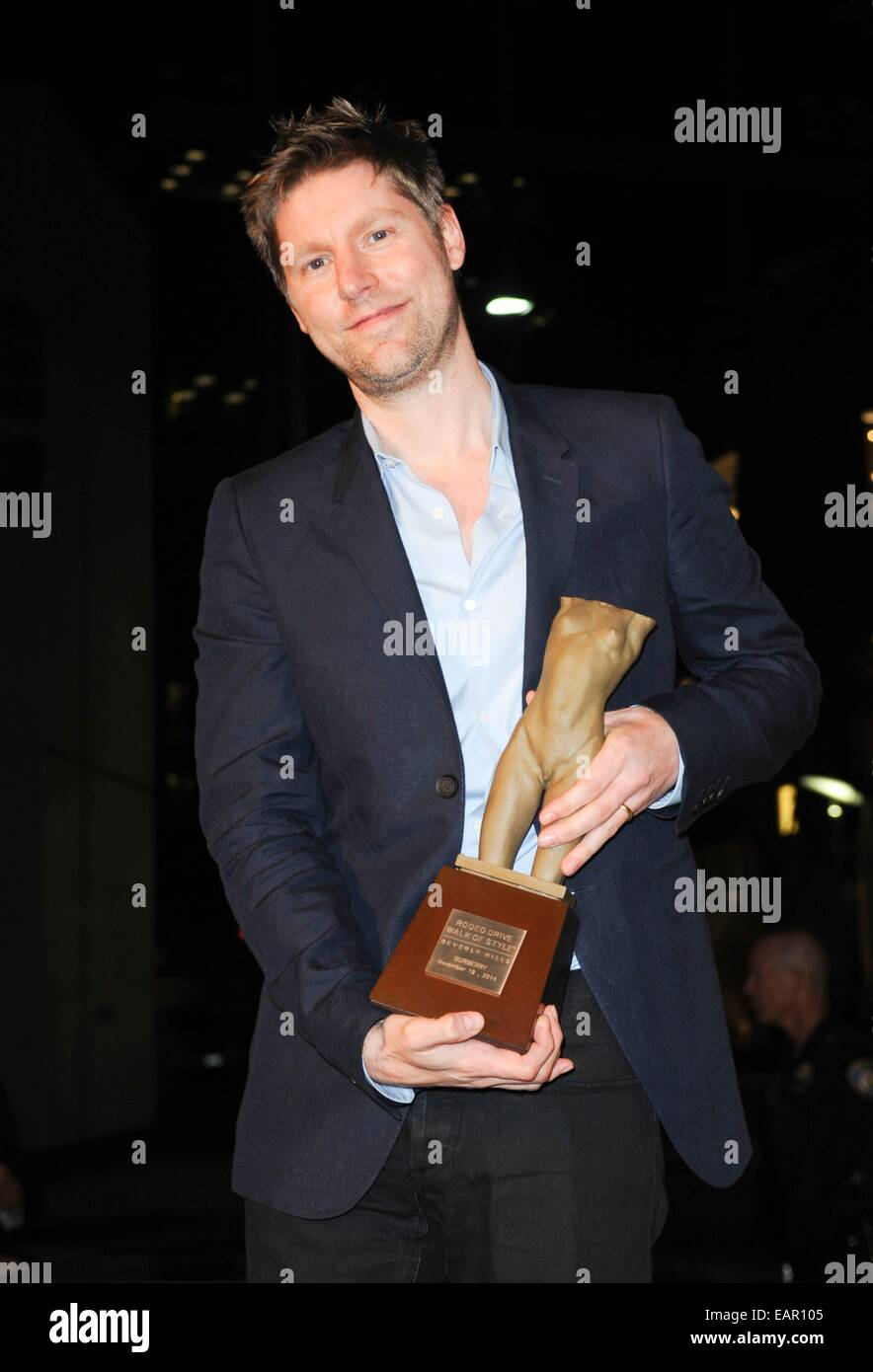 Beverly Hills, CA. 19th Nov, 2014. Christopher Bailey in attendance for Rodeo Drive Walk of Style Award Presentation, Stock Photo