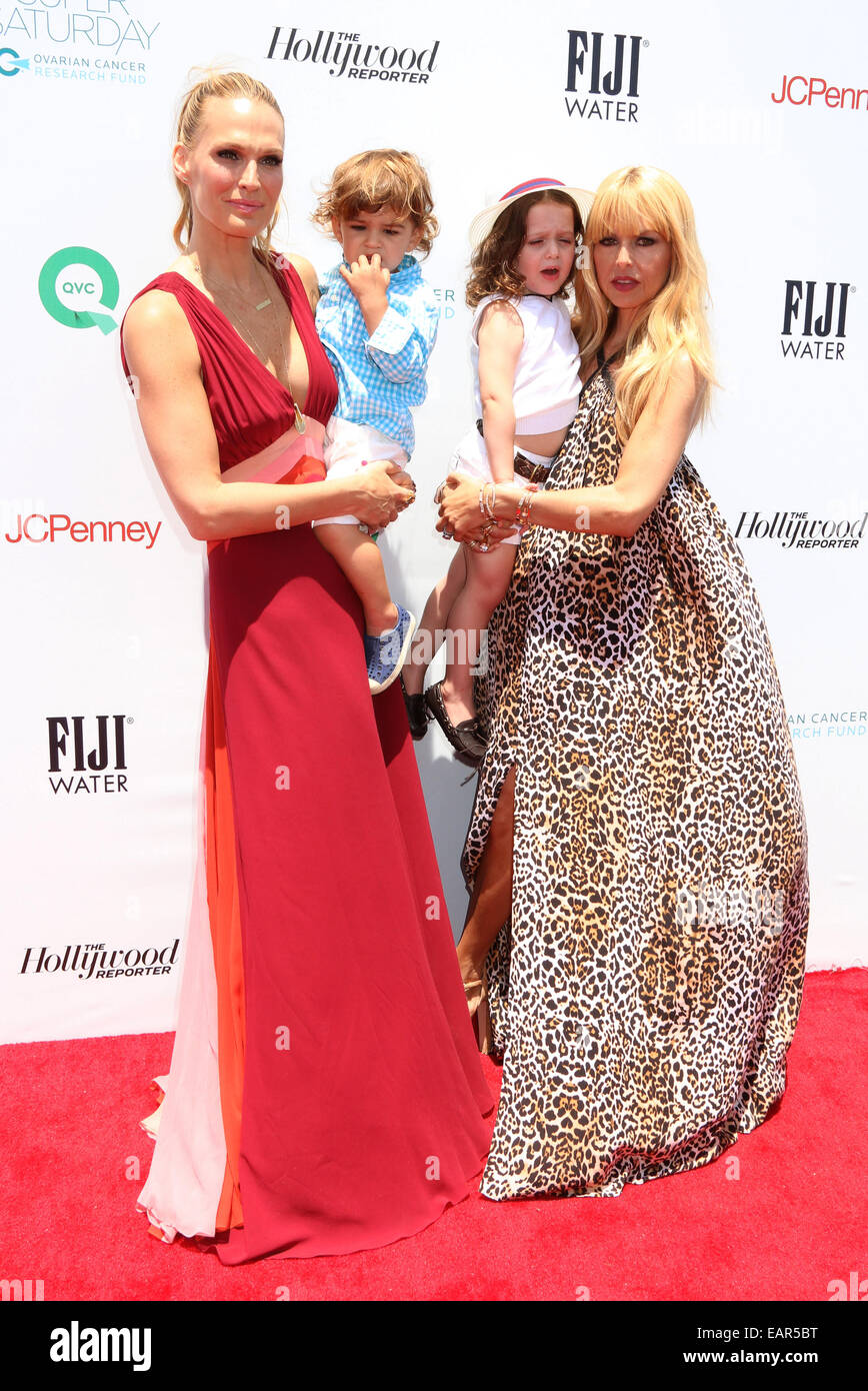 Rachel Zoe And Molly Sims Host Ovarian Cancer Research Fund's Inaugural Super Saturday LA  Featuring: Molly - Stock Image