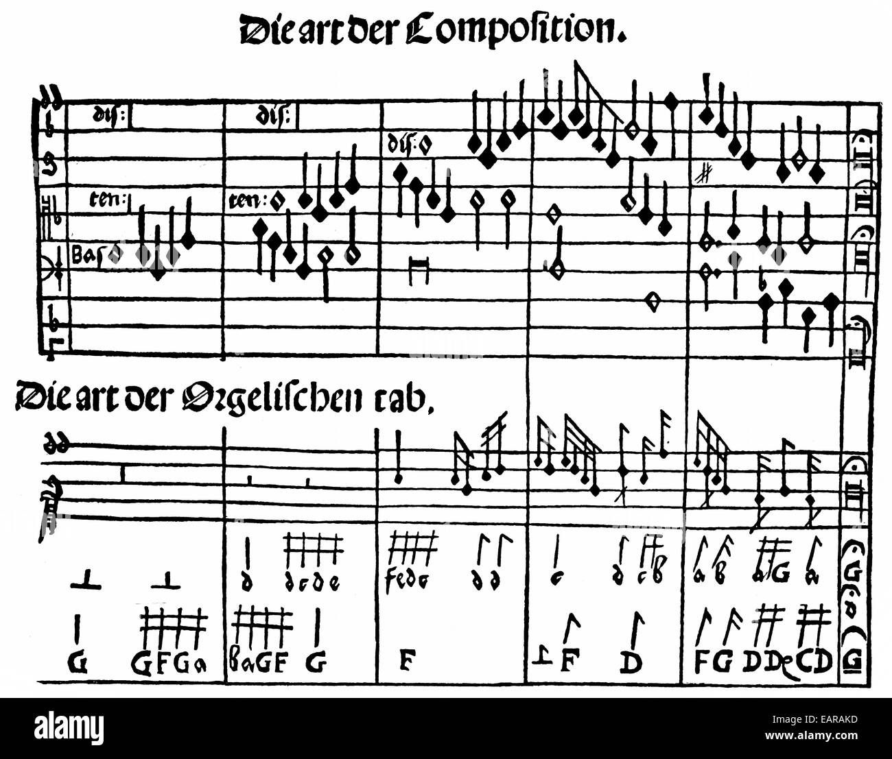 Page Music 16th Century Stock Photos & Page Music 16th Century Stock ...