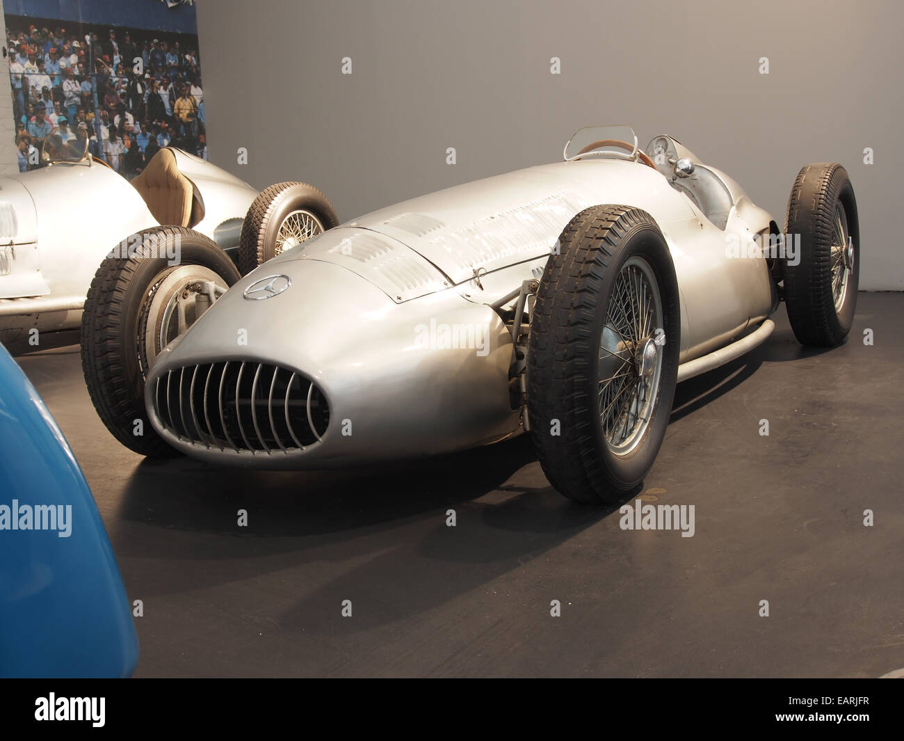 1939 Mercedes-Benz W154 Grand Prix, 12 cylinders, 2962cm3, 480hp, 280kmh, photo 1 - Stock Image