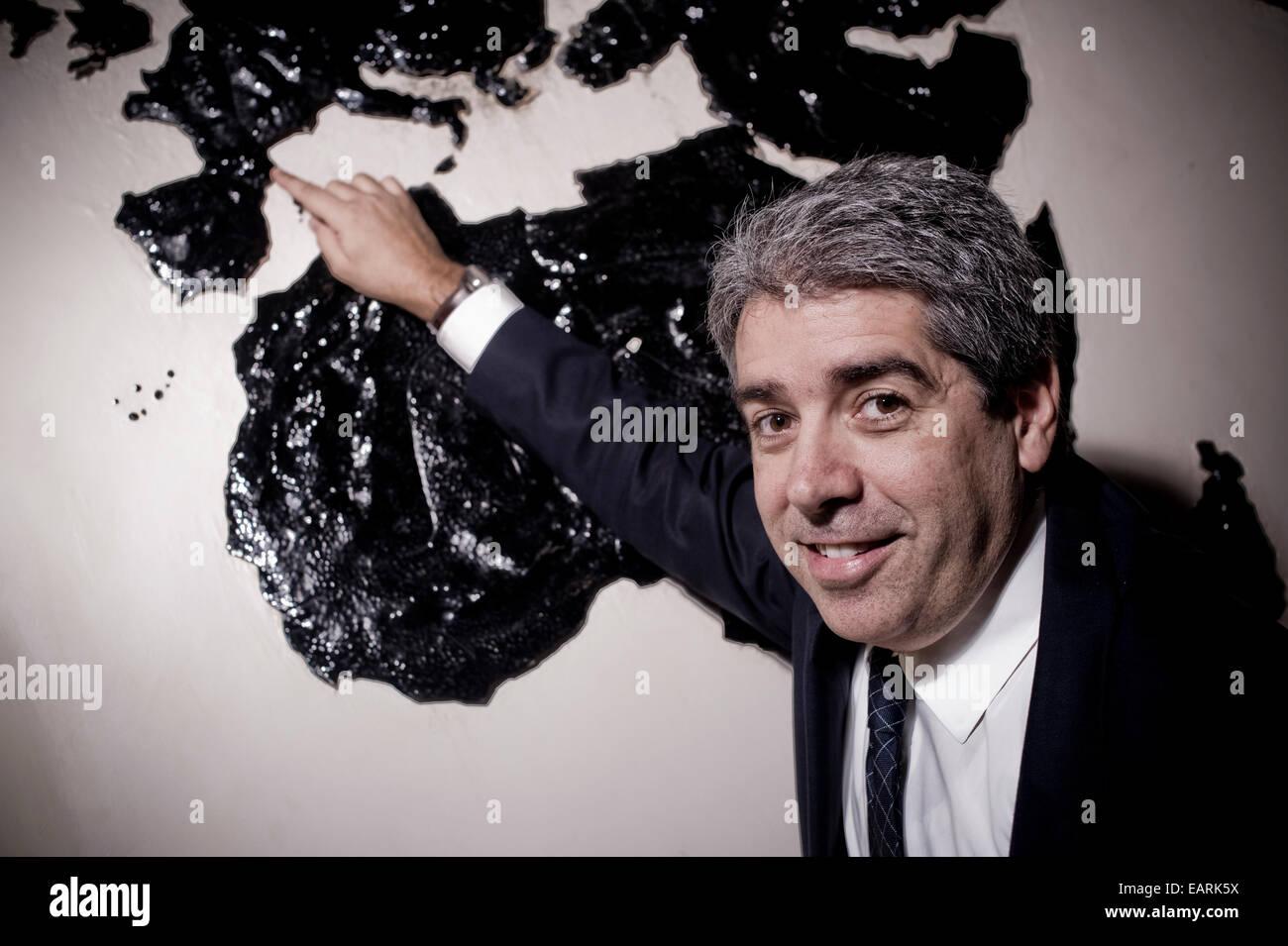 Francesc Homs i Molist, Catalan politician. Madrid, Spain. - Stock Image