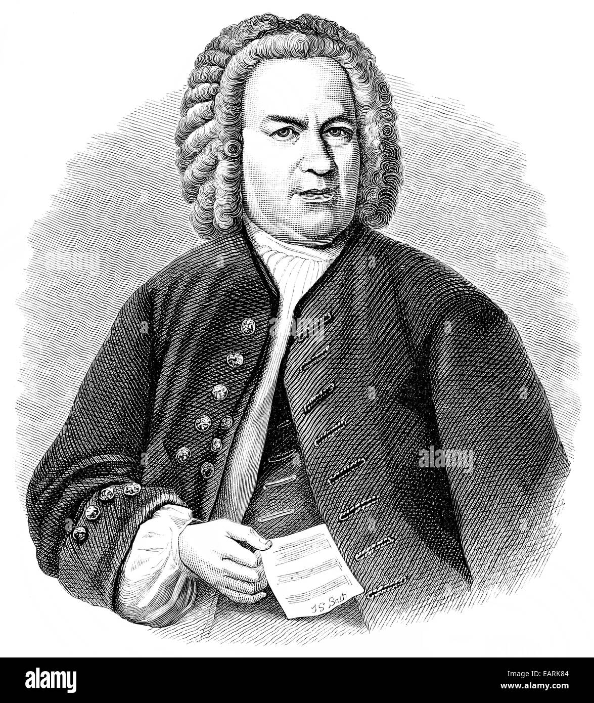 a biography of johann sebastian bach a german composer Johann sebastian bach (31 march [os 21 march] 1685 - 28 july 1750) was a german composer and musician of the baroque periodhe is known for instrumental compositions such as the brandenburg concertos and the goldberg variations, and vocal music such as the st matthew passion and the mass in b minor.