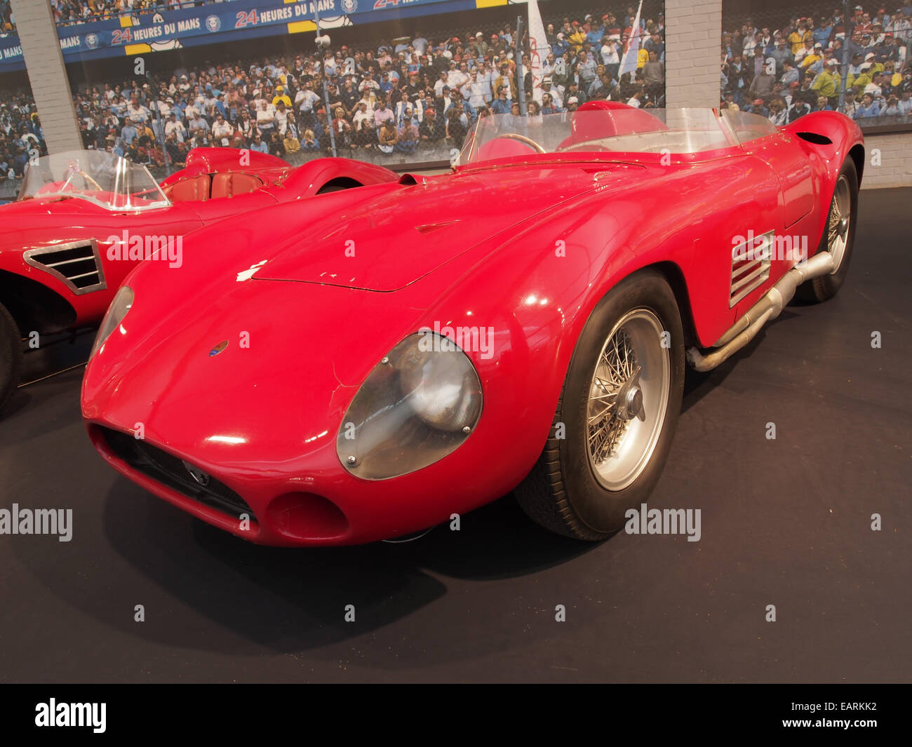 1955 Maserati Sports 300S, 6 cylinders, 2993cm3, 280hp, 280kmh, photo 4 Stock Photo