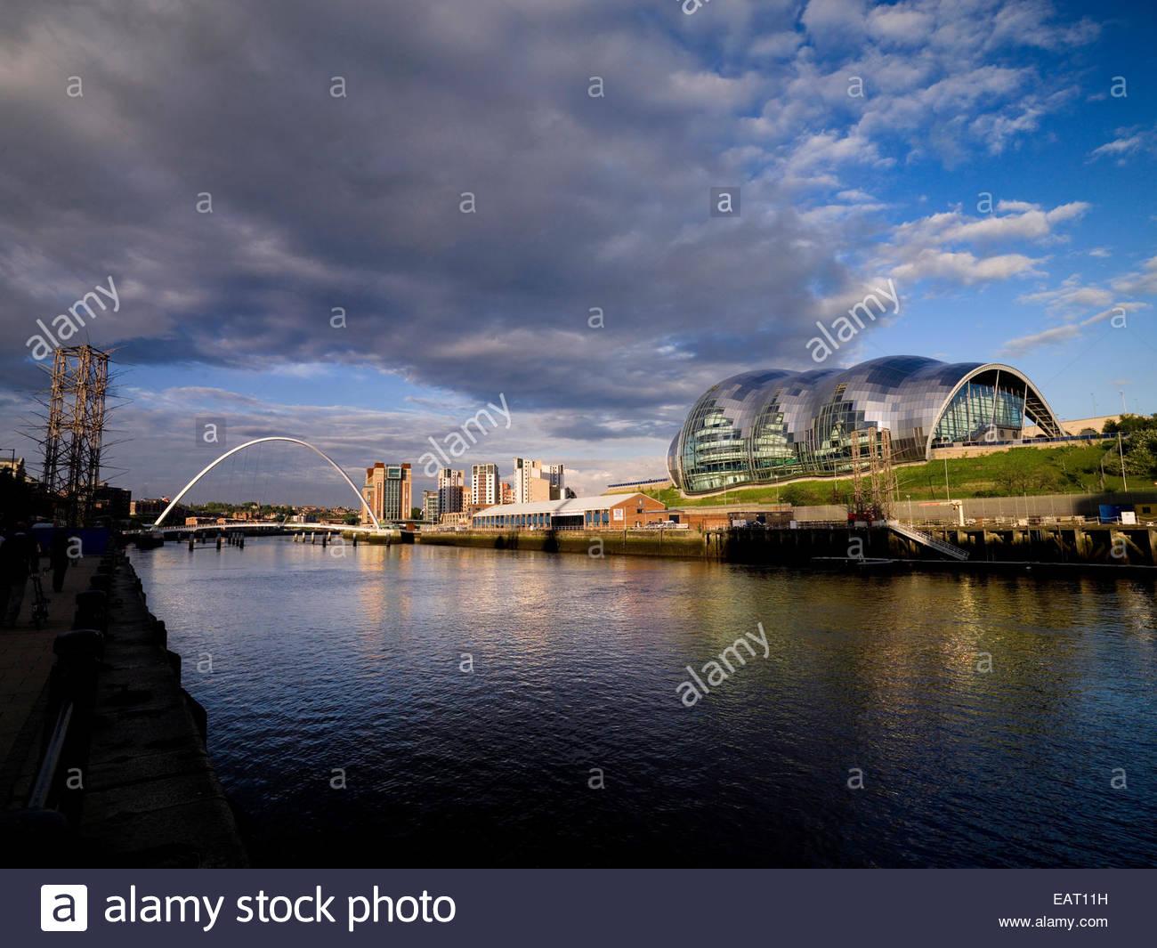 Newcastle Upon Tyne, England. - Stock Image