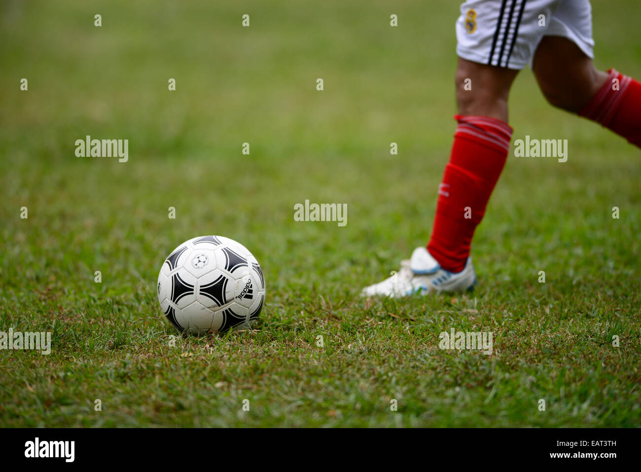 Before the Match - Stock Image