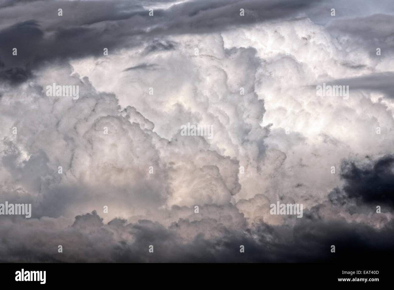Cumulonimbus Cloud Structure - Stock Image