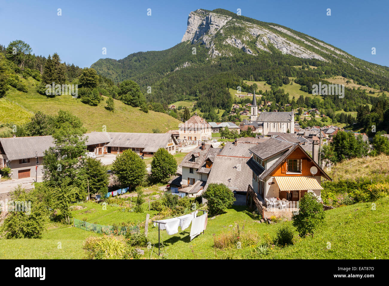 Saint Pierre d'Entremont, Parc Naturel de la Chartreuse, Savoie, Rhône-Alpes, France - Stock Image