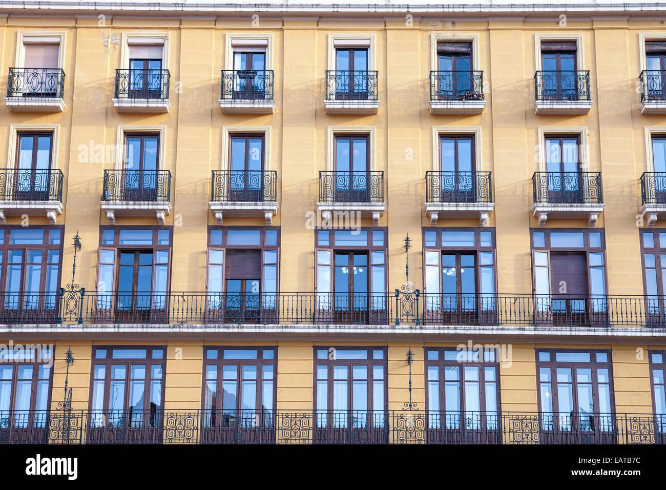 Burgos city, Way of St. James, Burgos, Spain - Stock Image
