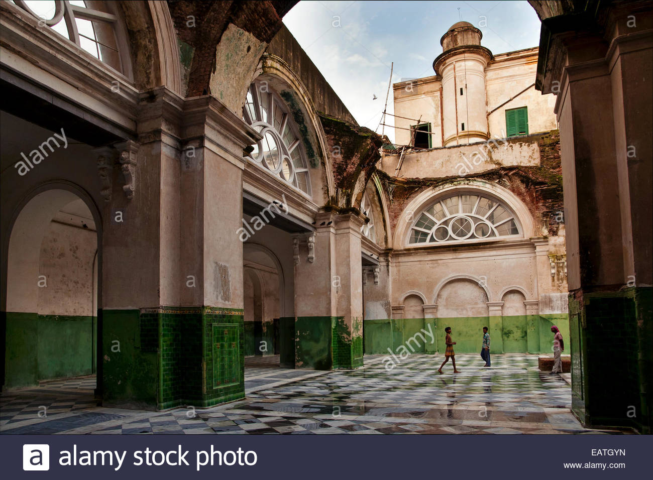 The 1882 Currency Building on Dalhousie Square in Kolkata. - Stock Image