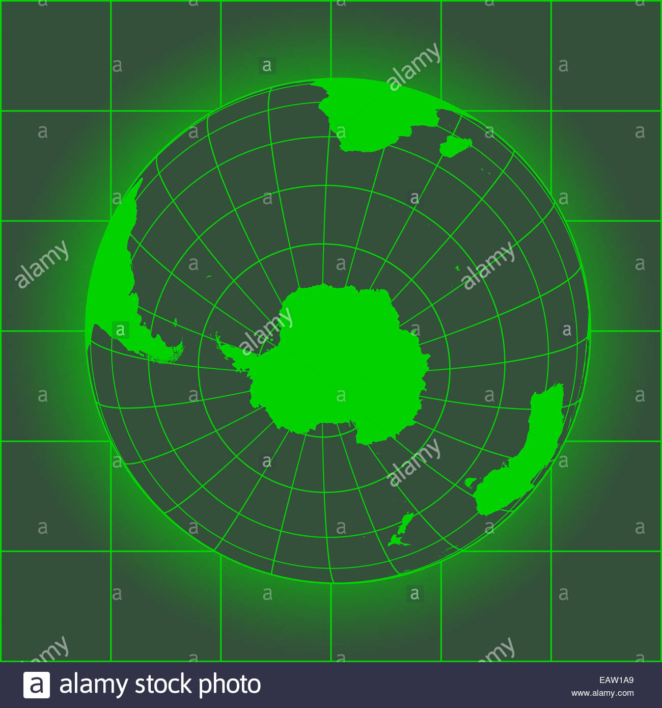 Green antarctica and south pole map antarctica australia america green antarctica and south pole map antarctica australia america africa earth globe old style map of the world gumiabroncs Image collections