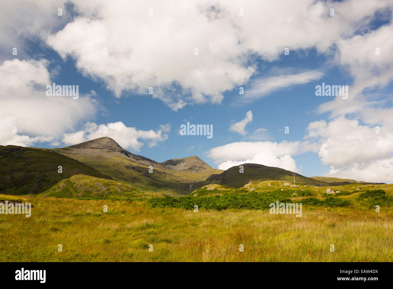 Ben More, a Munro on the Isle of Mull, Scotland, UK. - Stock Image