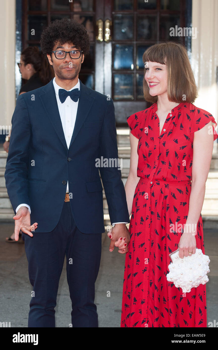 Richard Ayoade And Lydia Fox High Resolution Stock Photography And Images Alamy