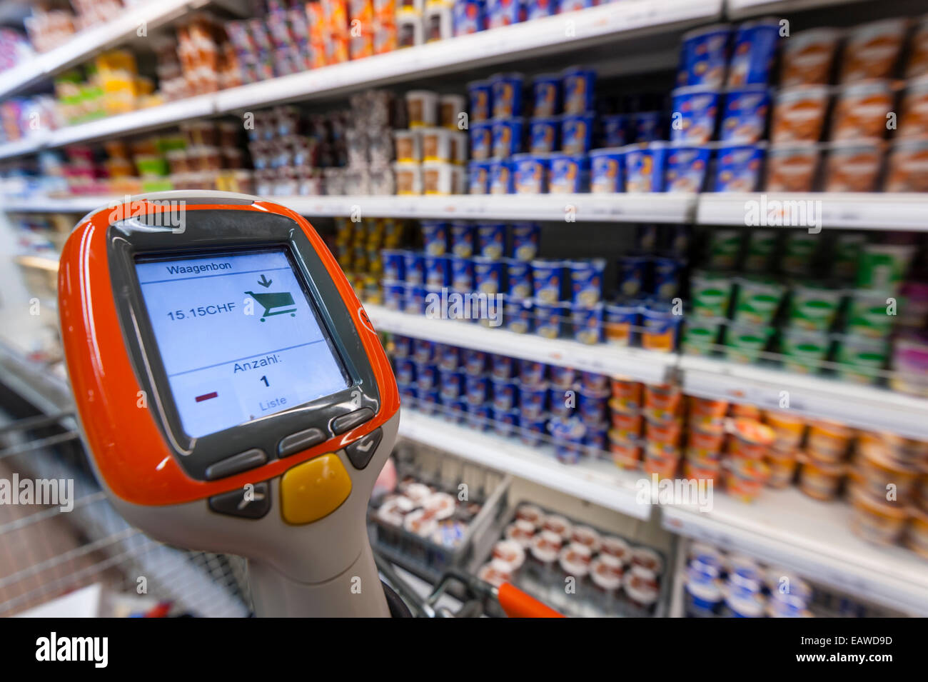 Image result for hand held self checkout device