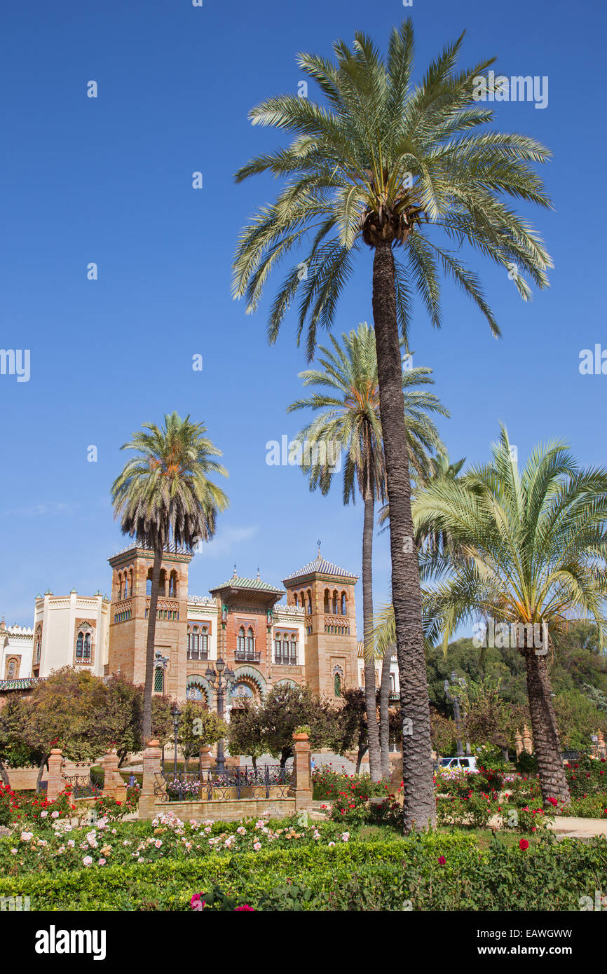 Seville - The Museum of Popular Arts and traditions (Museum of Artes y Costumbres Populares) - Stock Image