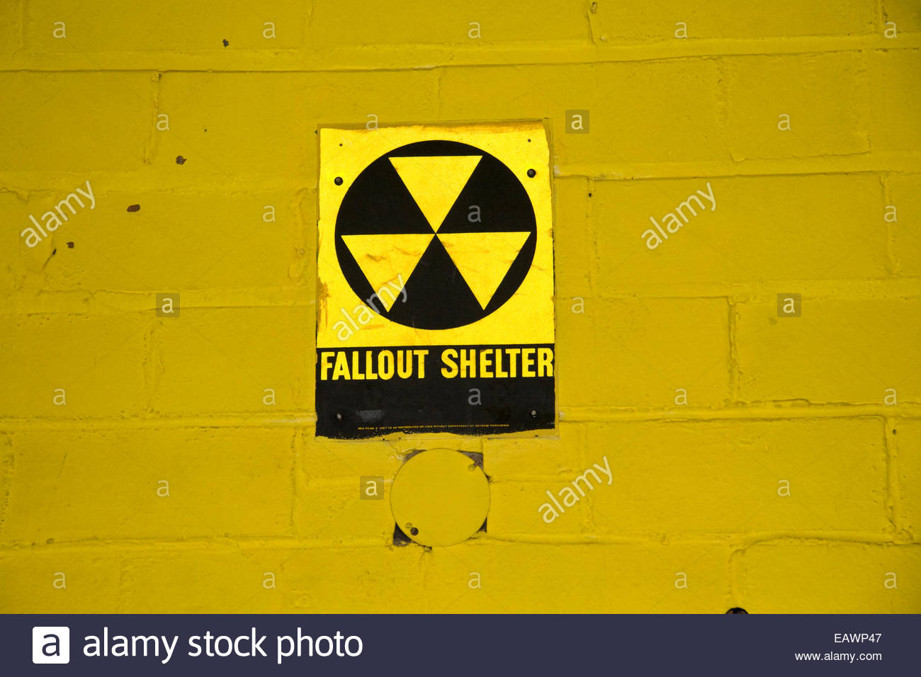 Fallout Shelter Sign Stock Photos Fallout Shelter Sign Stock
