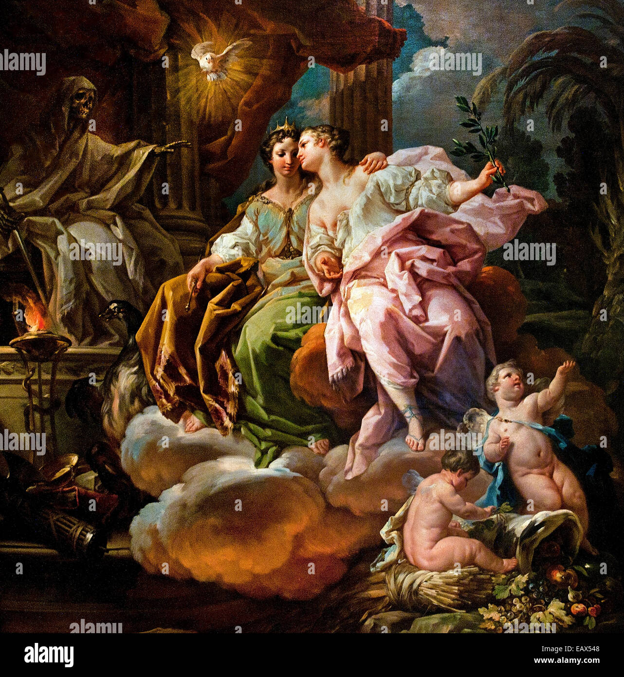 Rococo And Painting Stock Photos Rococo And Painting Stock Images - Rococo painting