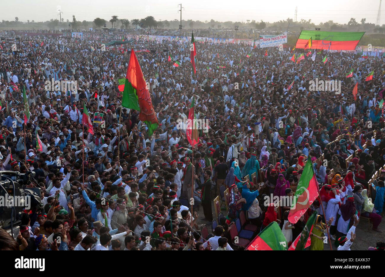Pti Supporters Stock Photos & Pti Supporters Stock Images