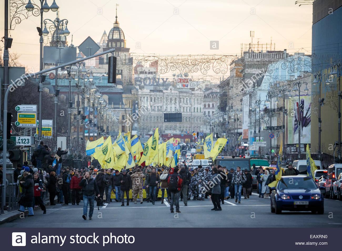 First Kiev Maidan