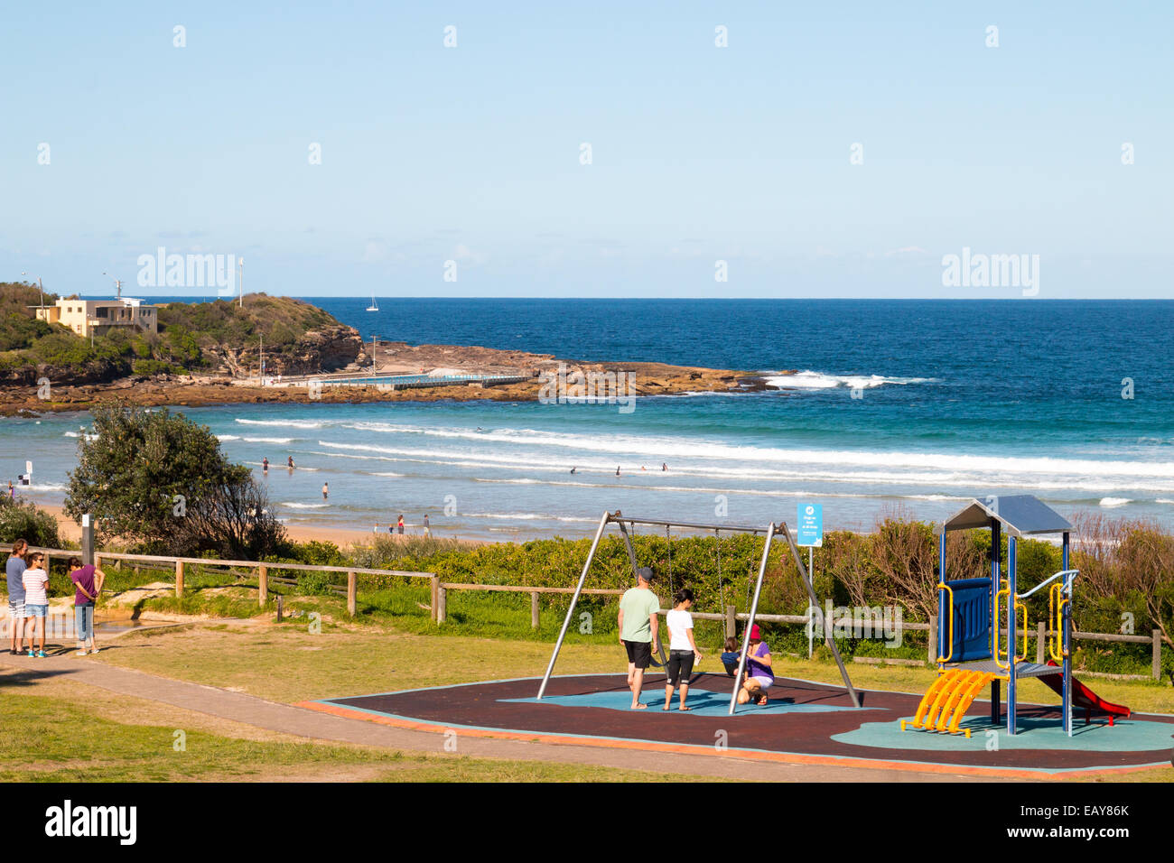 Freshwater a coastal suburb of Sydney on the northern beaches,new south wales Australia - Stock Image