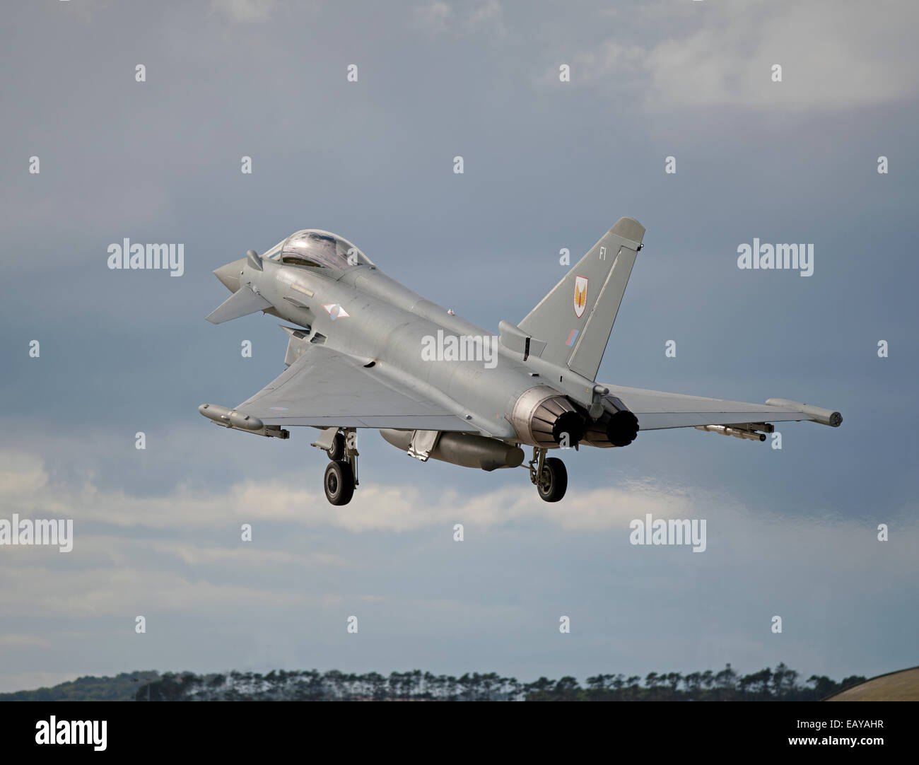 Eurofighter Typhoon FRG4 Military Fast Jet Fighter.  SCO 9178. - Stock Image