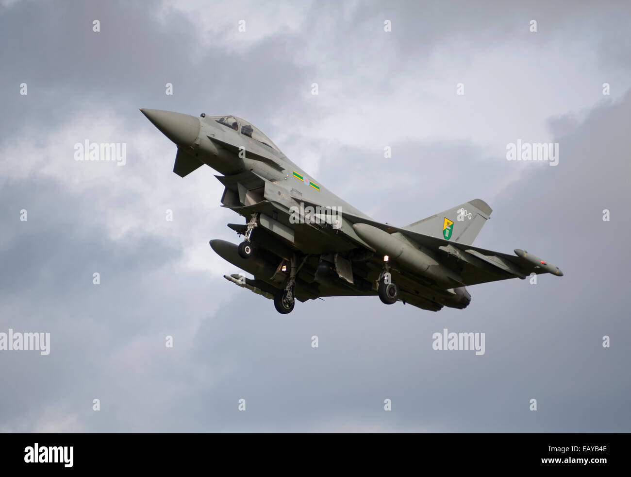 Eurofighter Typhoon FRG4 Military Fast Jet Fighter.  SCO 9168 - Stock Image