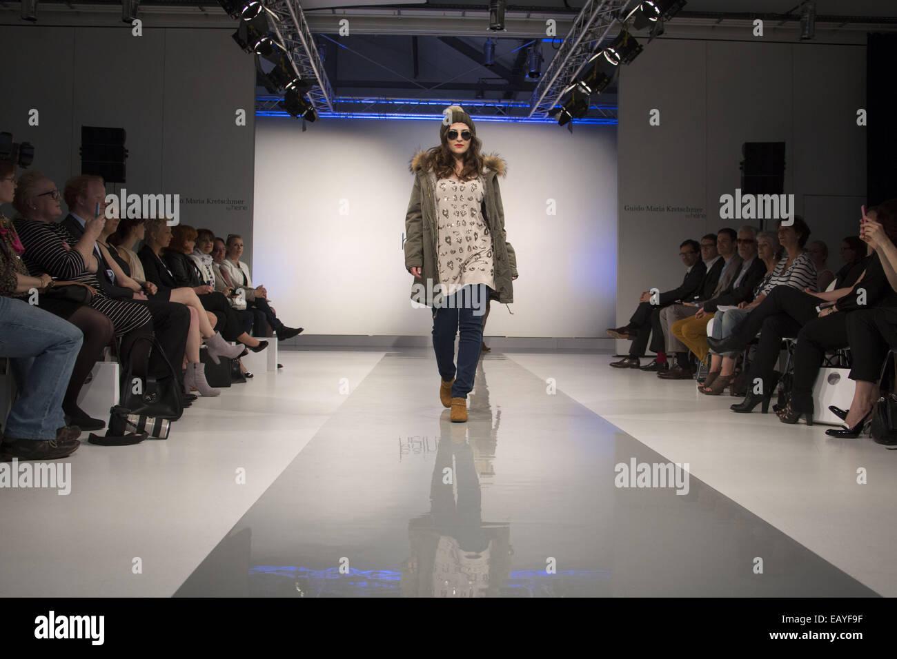 German fashion designer Guido Maria Kretschmer present his Guido Maria  Kretschmer by heine collection at Briese 404c79ad81