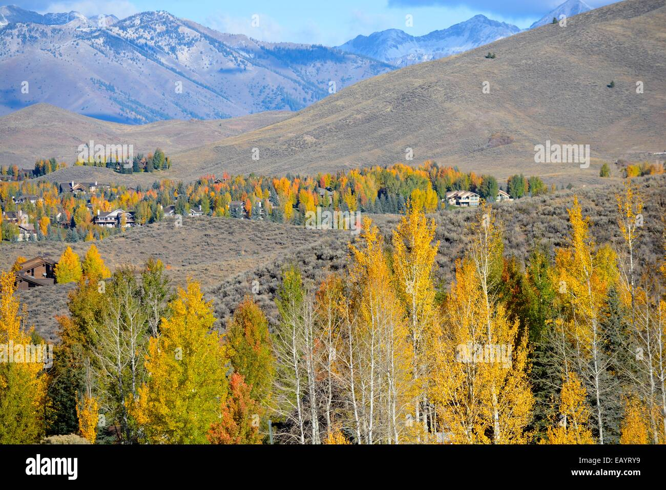 Sun Vally Idaho - Stock Image