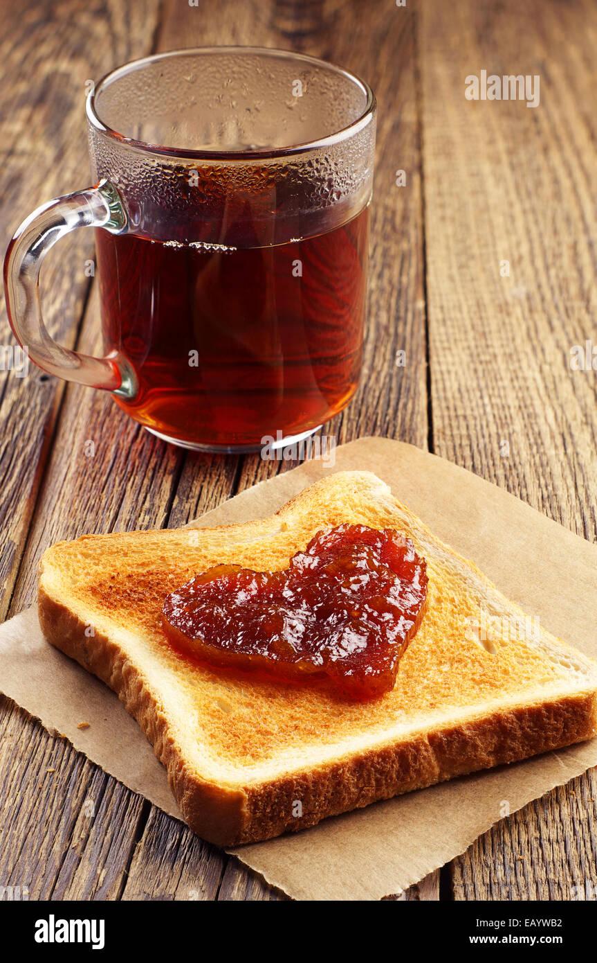 how to make jam on toast