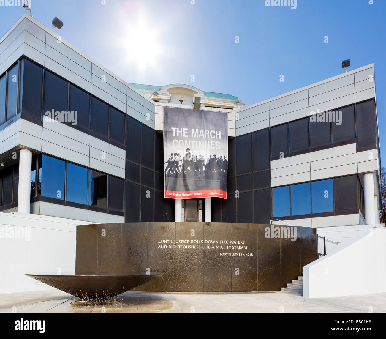The Civil Rights Memorial Center, Montgomery, Alabama, USA - Stock Image