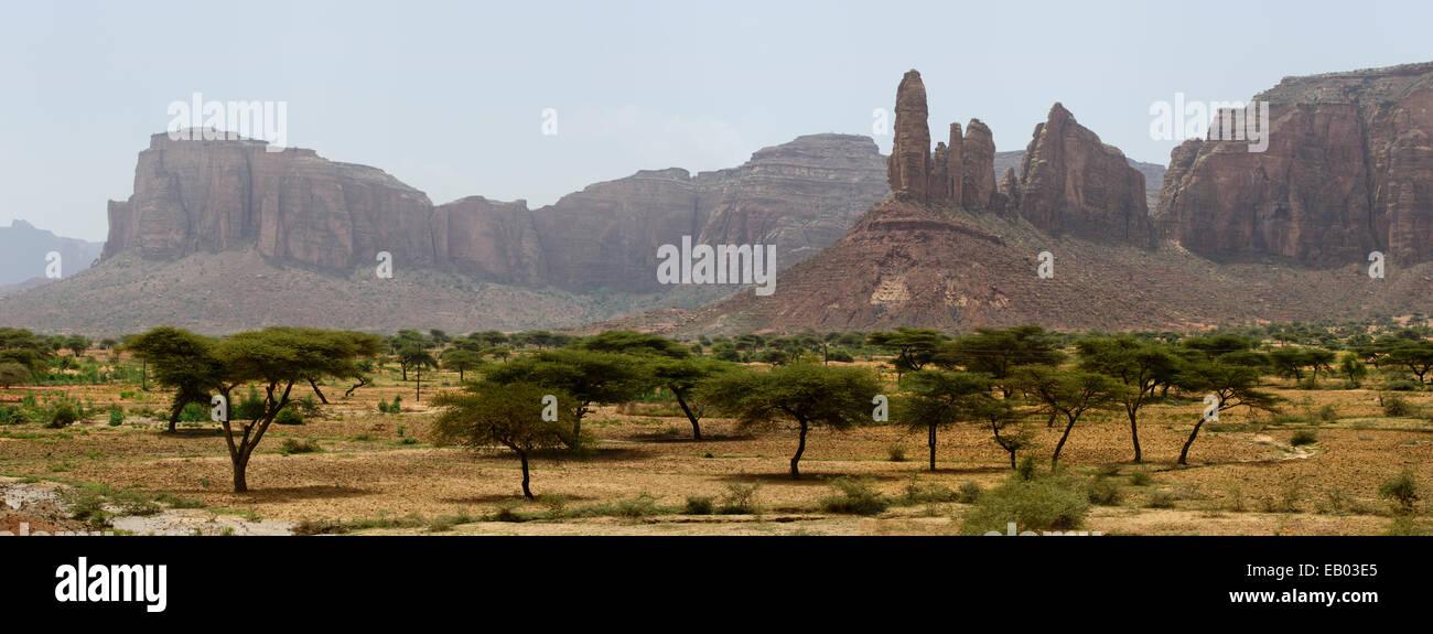 Views of Tigray region, Ethiopia - Stock Image