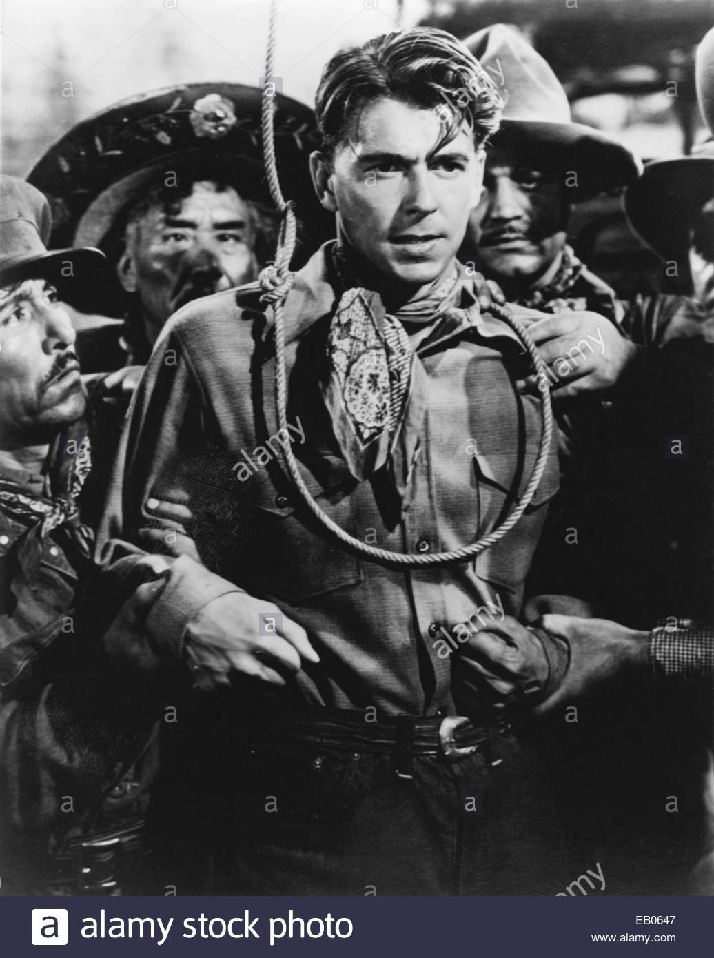 RONALD REAGAN circa 1940s. - Stock Image