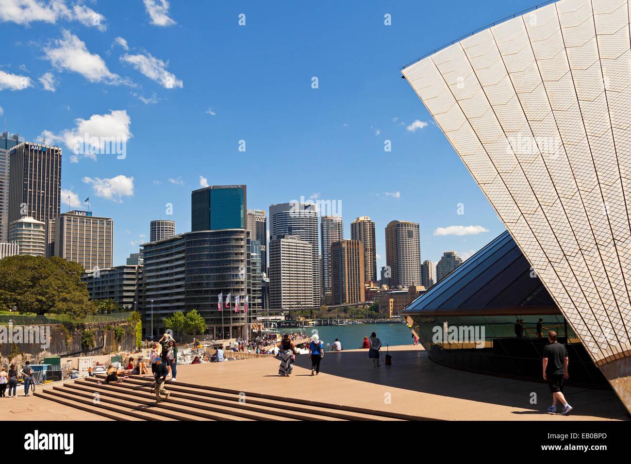 Circular Quay Sydney NSW Australia - Stock Image