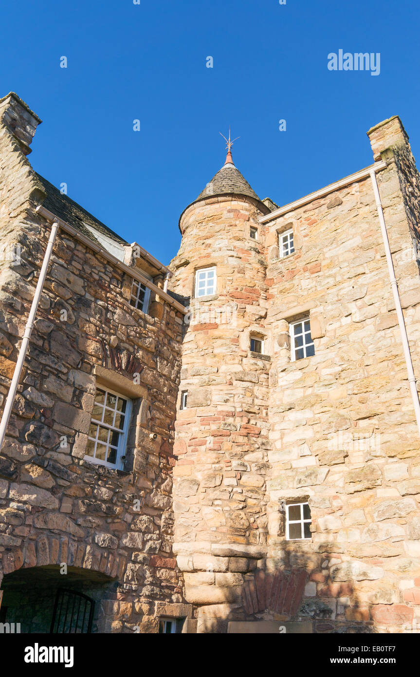 Mary Queen of Scots House Museum, Jedburgh, Scottish Borders, Scotland, UK - Stock Image