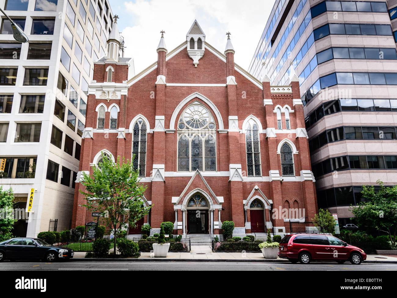 Metropolitan African Methodist Episcopal Church 1518 M Street Nw Stock Photo Alamy