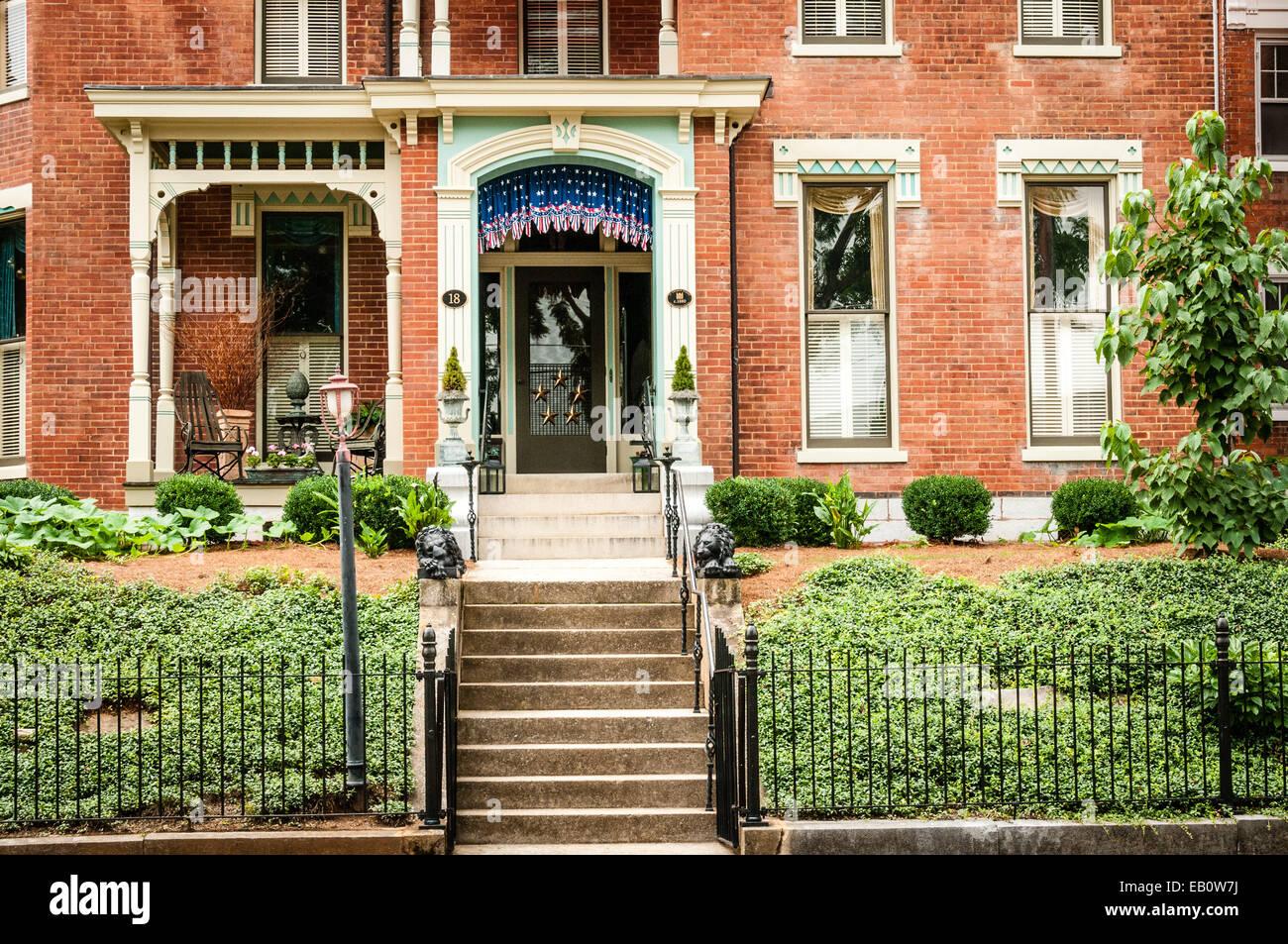 18 Church Street, Staunton, Virginia - Stock Image