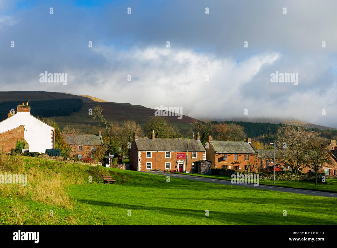 The village of Melmerby, Eden Valley, Cumbria, England UK - Stock Image