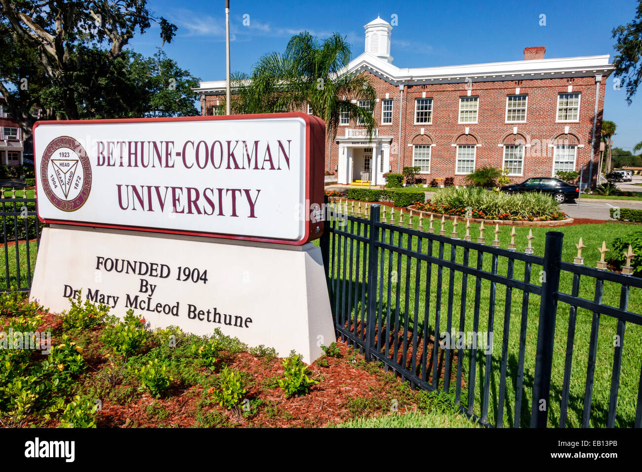 Bethune Cookman University In Daytona Beach Florida