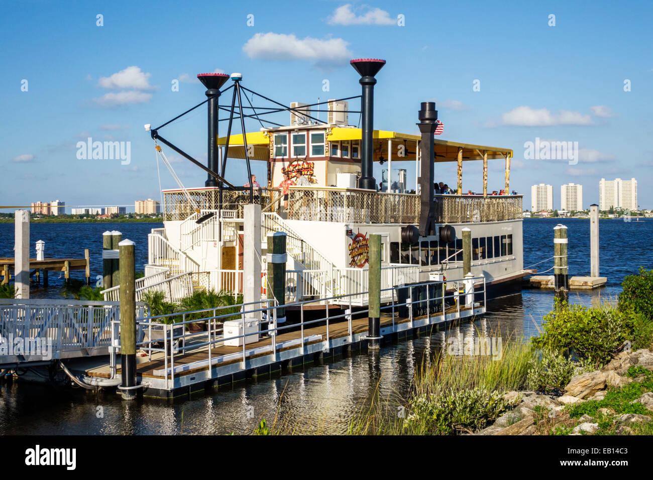 Daytona Beach Florida Port Orange Captain Daddys Riverboat