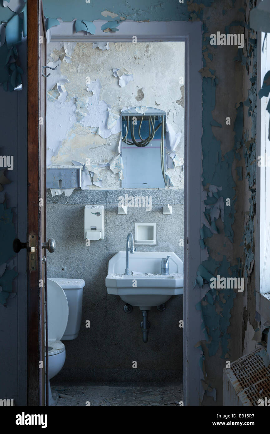 A Washroom In An Abandoned Hospital With Peeling Paint On The Walls Stock Photo Alamy,Pink Pinterest Baby Shower Decorations