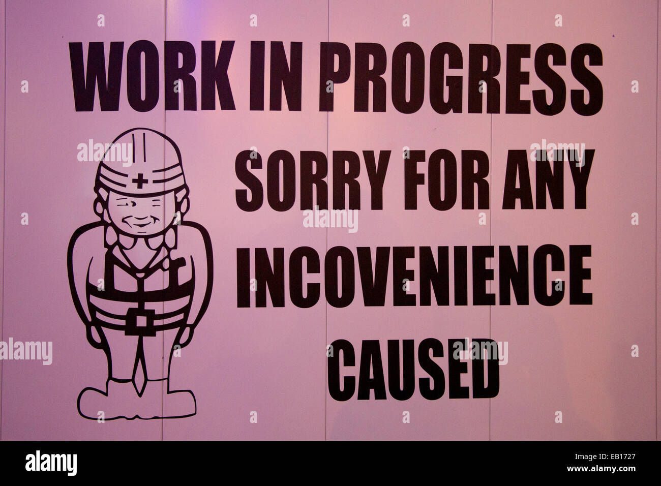 Work in Progress - Stock Image