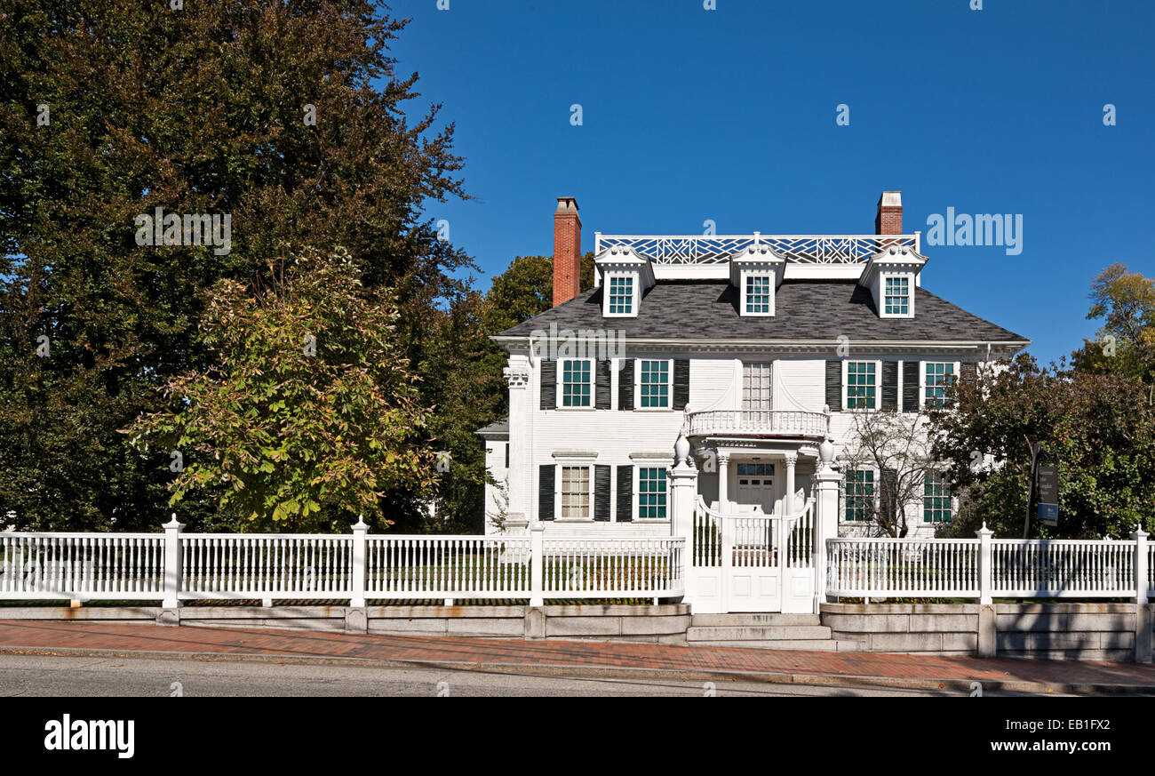 Governor John Langdon House in Portsmouth, New Hampshire. - Stock Image