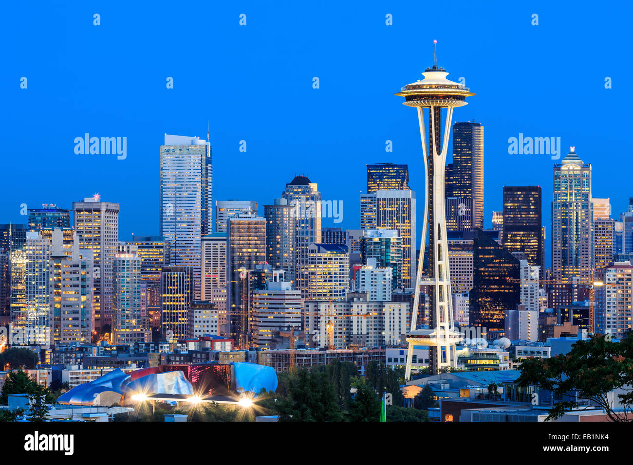 Seattle, Washington - Stock Image