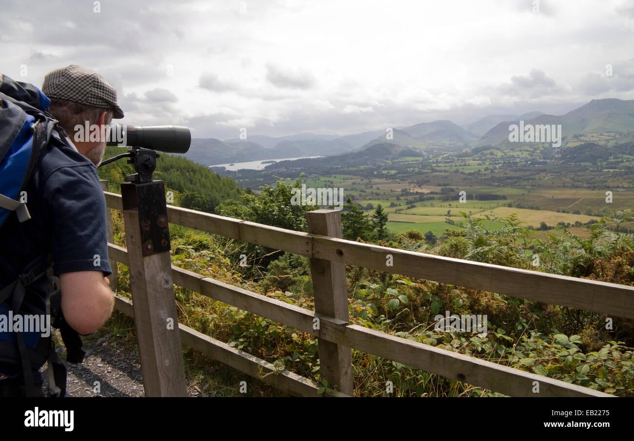 Lake District Osprey Project England UK - Stock Image