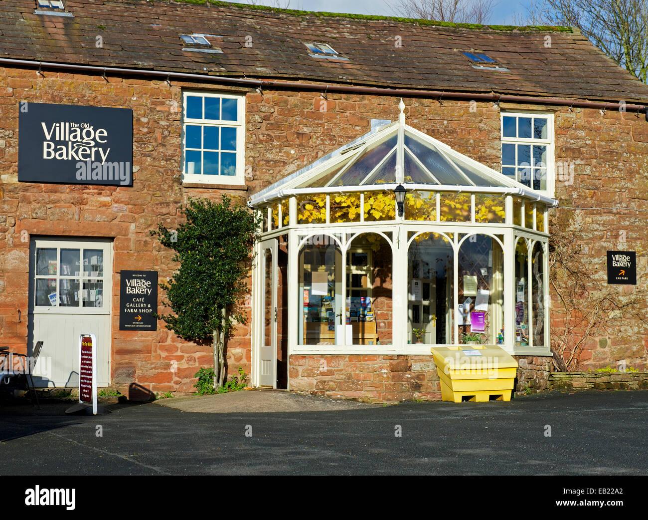 The Village Bakery, Melmerby, Eden Valley, Cumbria, England UK - Stock Image