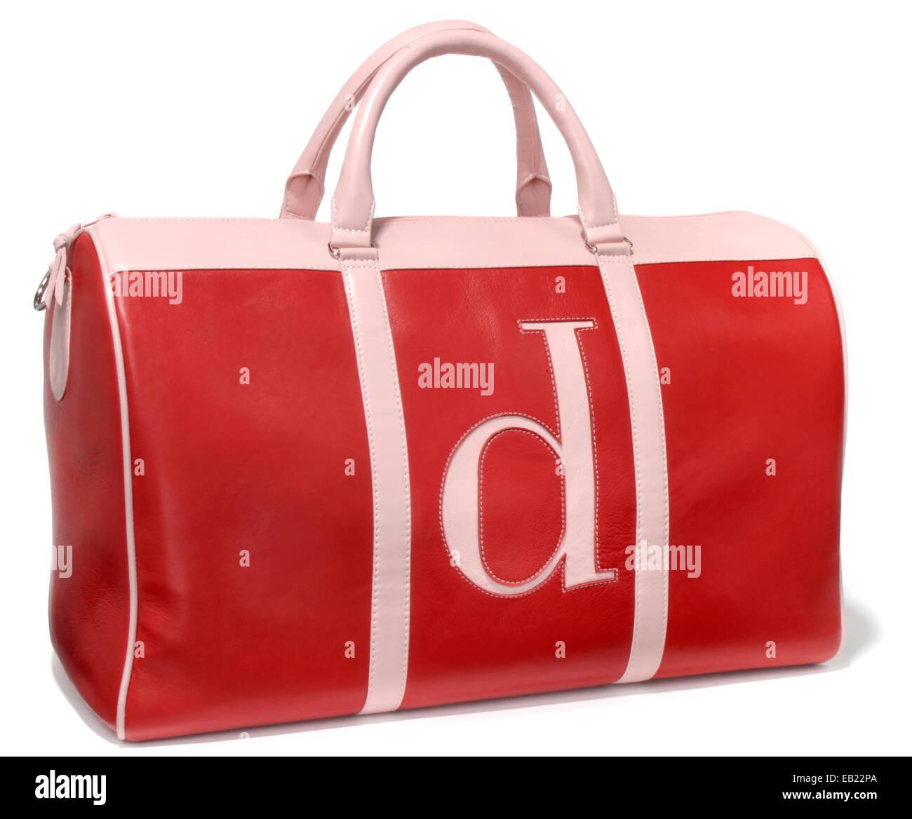 d letter bag - Stock Image