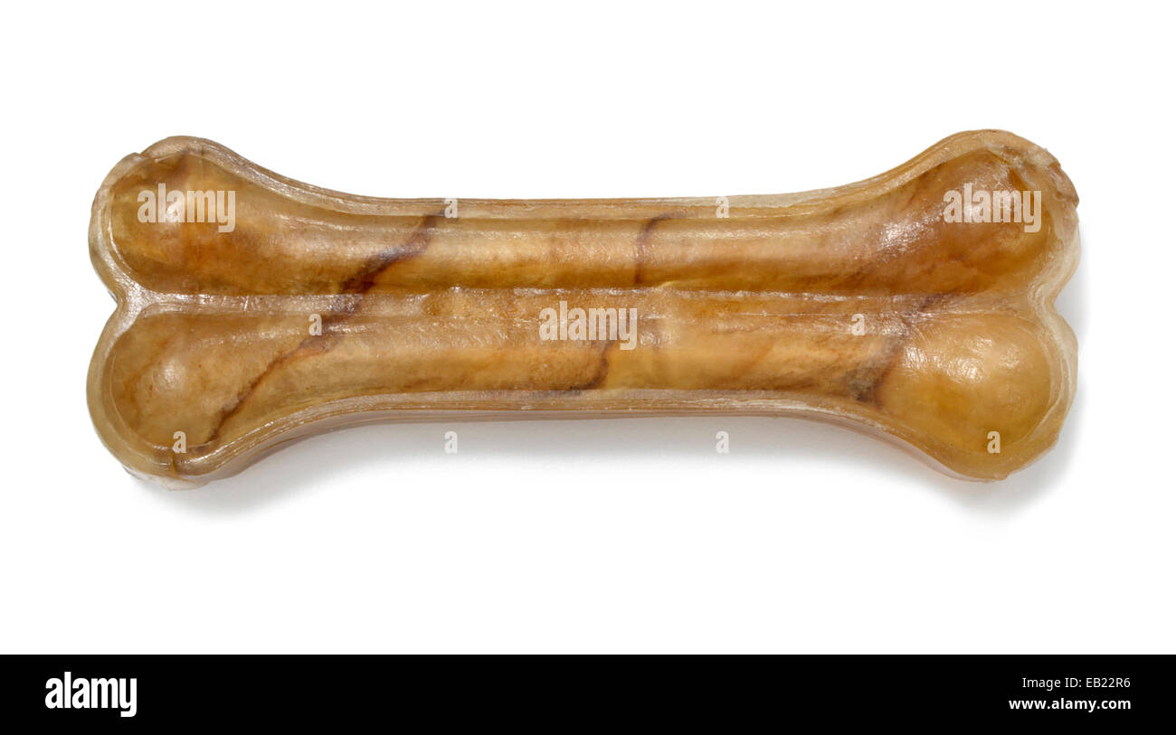 dog bone treat - Stock Image